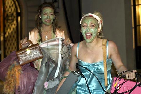 Material Girls : Photo Haylie Duff, Hilary Duff, Martha Coolidge