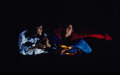 Superman II : Photo Christopher Reeve, Margot Kidder