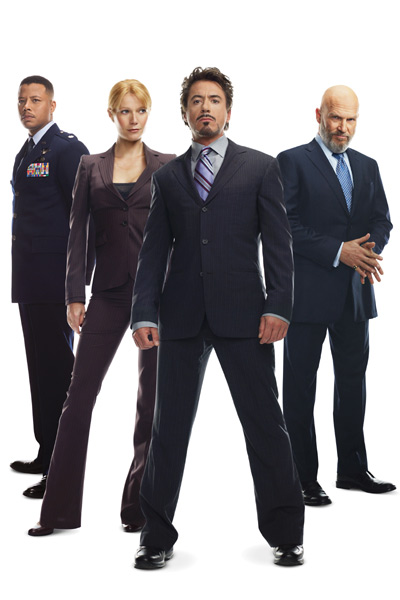 Iron Man : Photo Gwyneth Paltrow, Jeff Bridges, Robert Downey Jr., Terrence Howard