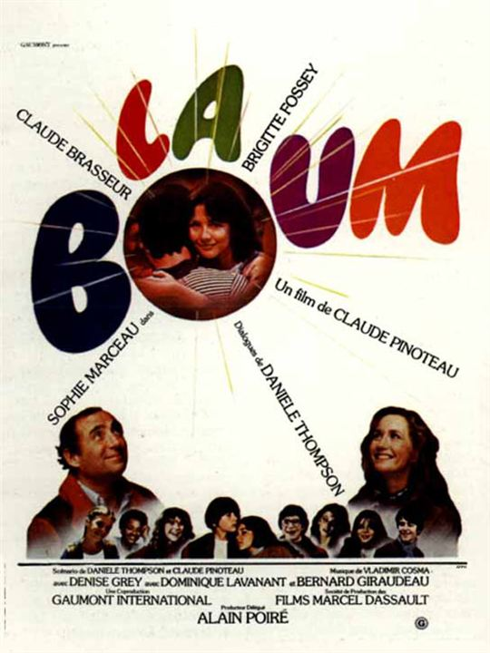 La Boum : Affiche