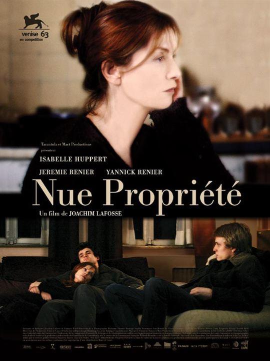 Nue Propriété : Affiche Jérémie Renier, Yannick Renier