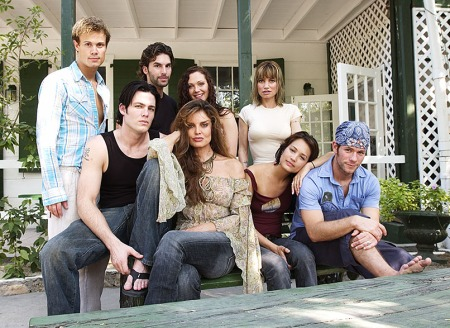 Dante's Cove : Photo Charlie David, Gregory Michael, Josh Berresford, Nadine Heiman, Rena Riffel