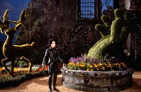 Edward aux mains d'argent : Photo Johnny Depp