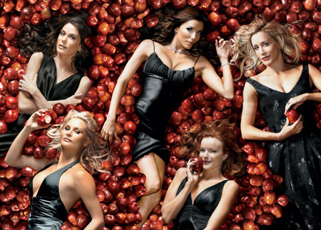 Desperate Housewives : Photo Eva Longoria, Felicity Huffman, Marcia Cross, Nicollette Sheridan, Teri Hatcher