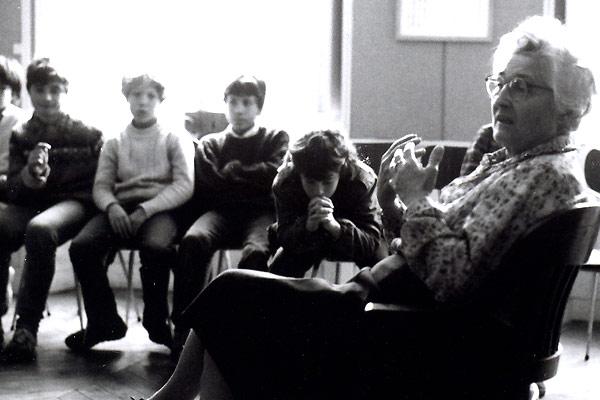 Parole, l'héritage Dolto : photo Vincent Blanchet