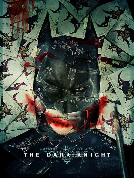 The Dark Knight, Le Chevalier Noir : Affiche Christian Bale