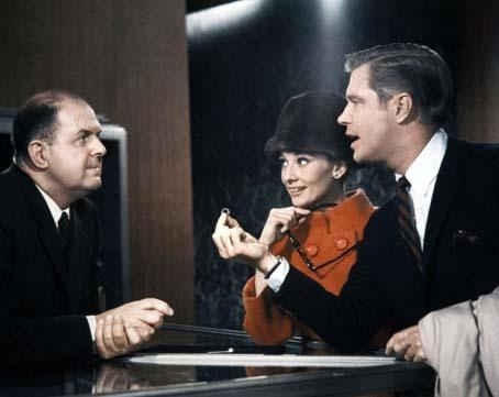 Diamants sur canapé : Photo Audrey Hepburn, George Peppard, John McGiver