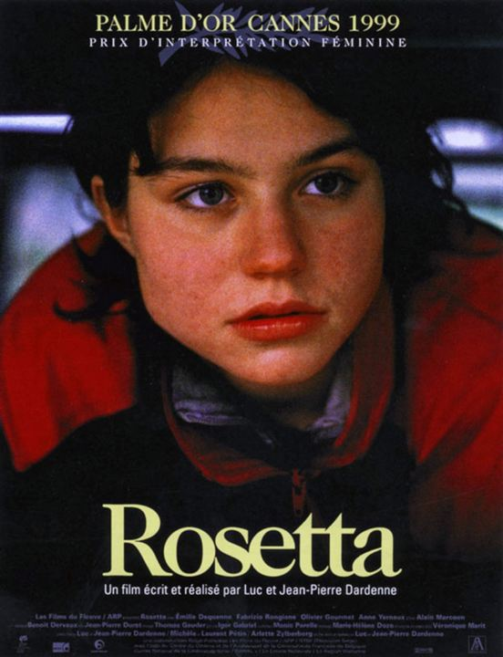 Rosetta : Affiche Jean-Pierre Dardenne, Luc Dardenne