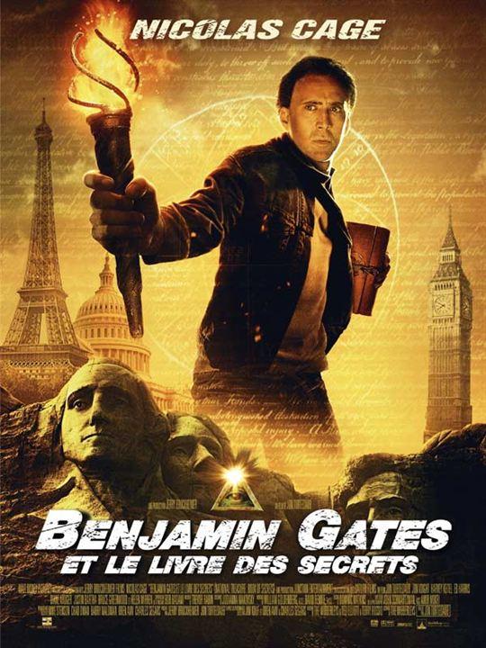 Benjamin Gates 2 et le Livre des Secrets affiche