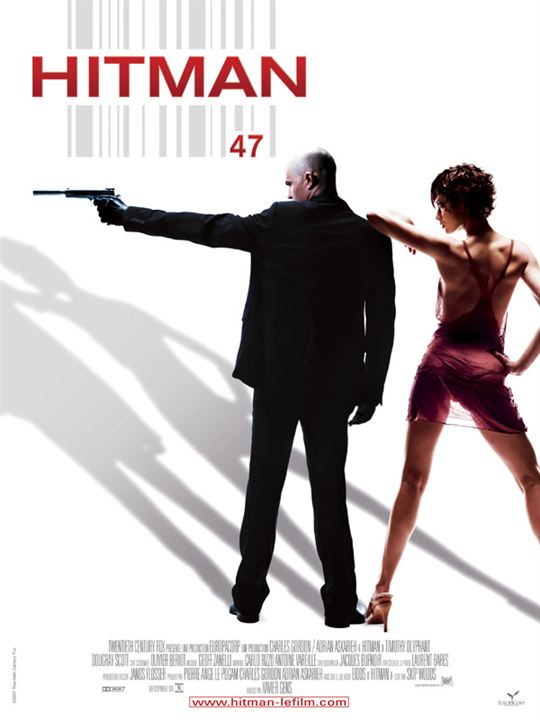 Hitman : Affiche Timothy Olyphant, Xavier Gens