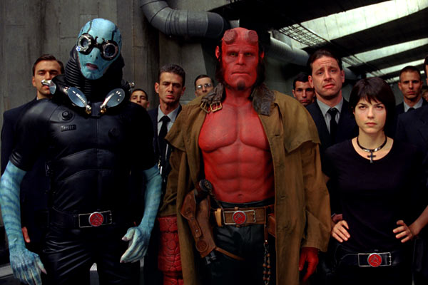 Hellboy II les légions d'or maudites : Photo Doug Jones, Ron Perlman, Selma Blair