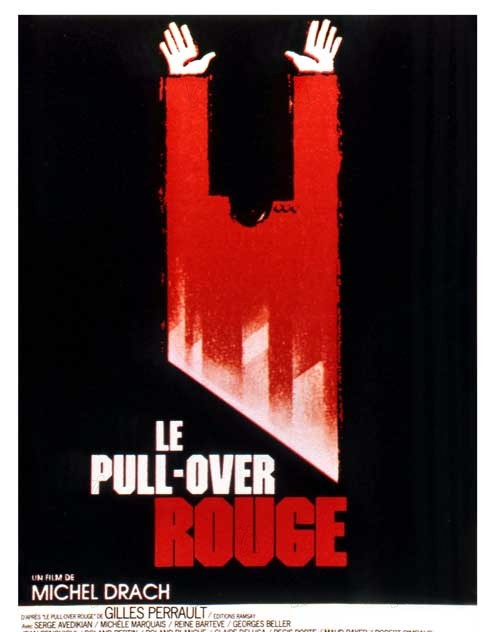 Le Pull-over rouge : Affiche