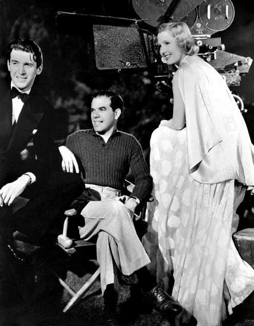 Vous ne l'emporterez pas avec vous : Photo Frank Capra, James Stewart, Jean Arthur