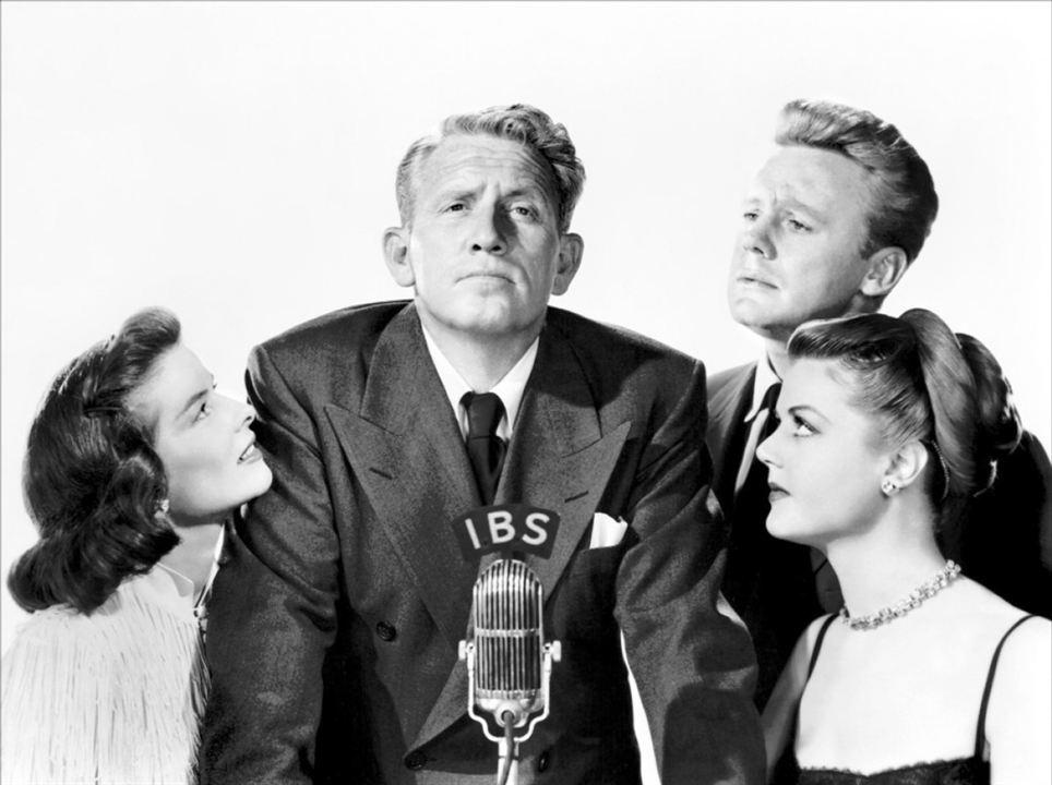 L'Enjeu : Photo Angela Lansbury, Katharine Hepburn, Spencer Tracy, Van Johnson
