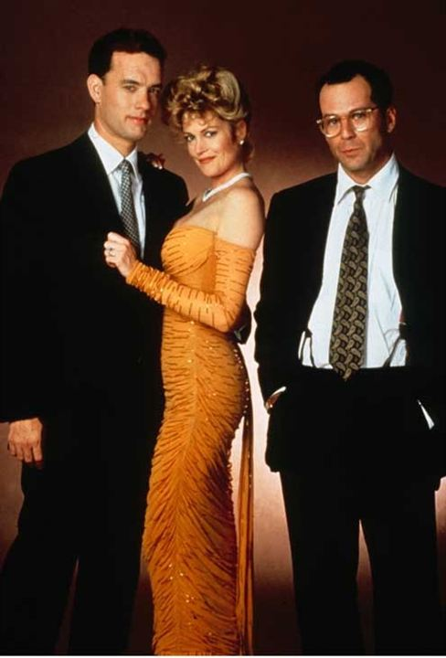 Le Bûcher des vanités : Photo Bruce Willis, Melanie Griffith, Tom Hanks