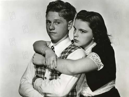 L'Amour frappe Andy Hardy : Photo George B. Seitz, Judy Garland, Mickey Rooney