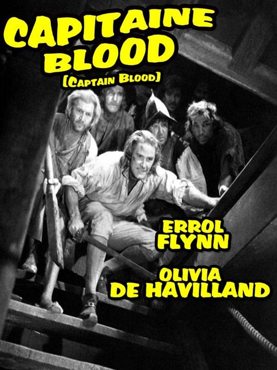 Capitaine Blood : Affiche