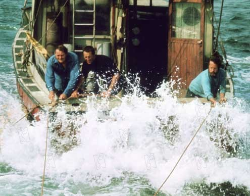 Les Dents de la Mer : Photo Robert Shaw, Roy Scheider