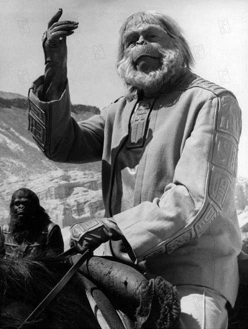 Le Secret de la planète des singes : Photo Maurice Evans, Ted Post