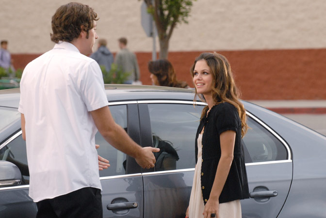 Chuck : Photo Rachel Bilson, Zachary Levi
