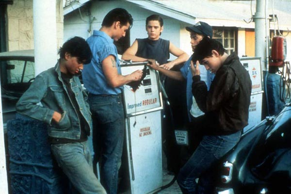 Outsiders : Photo C. Thomas Howell, Matt Dillon, Ralph Macchio, Rob Lowe, Tom Cruise