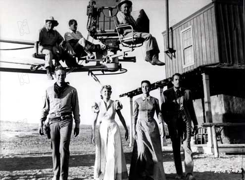 Les Grands espaces : Photo Carroll Baker, Charlton Heston, Gregory Peck, Jean Simmons, William Wyler