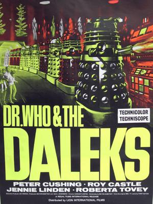 Affichette (film) - FILM - Dr Who contre les Daleks : 36731