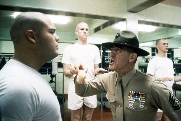 Full Metal Jacket : Photo Matthew Modine, R. Lee Ermey, Vincent D'Onofrio