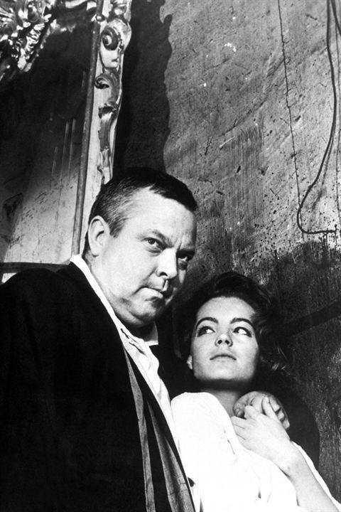Le Procès : Photo Orson Welles, Romy Schneider