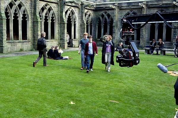Harry Potter et le Prince de sang mêlé : Photo Daniel Radcliffe, Emma Watson, Rupert Grint