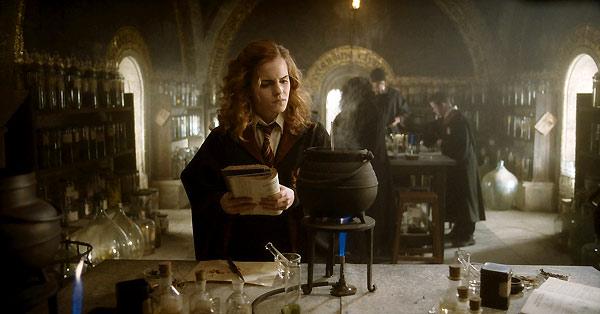 Harry Potter et le Prince de sang mêlé : Photo Emma Watson
