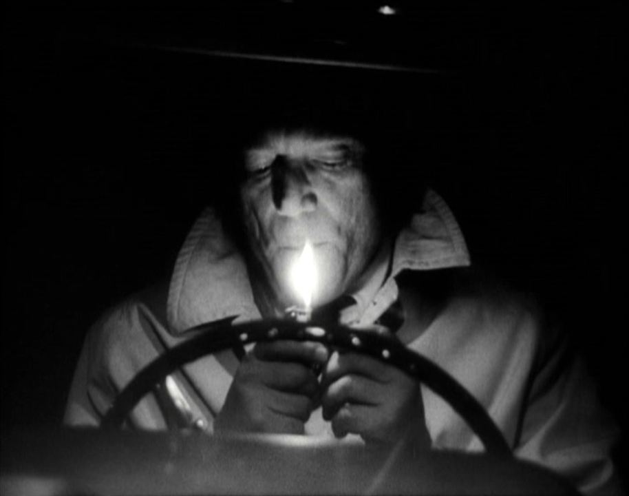 Alphaville, une étrange aventure de Lemmy Caution : Photo Eddie Constantine, Jean-Luc Godard