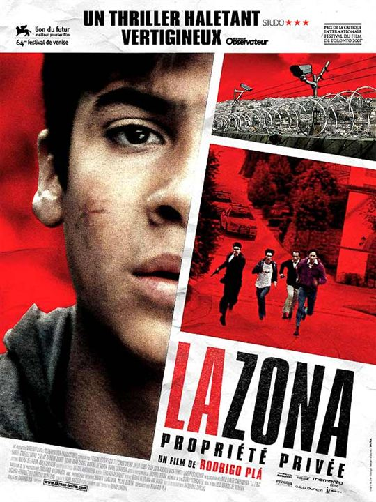 La Zona, propriété privée : Affiche