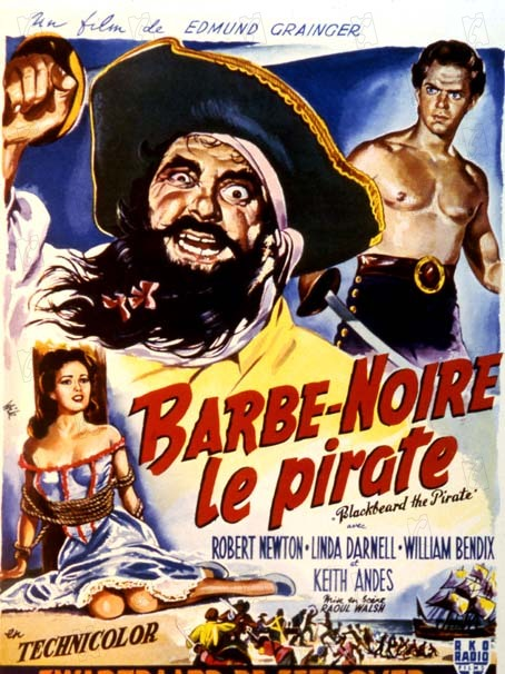 Barbe-Noire le pirate : Photo Raoul Walsh