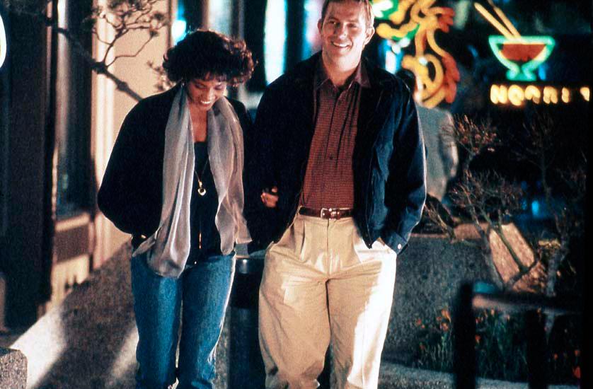 Bodyguard : Photo Kevin Costner, Whitney Houston