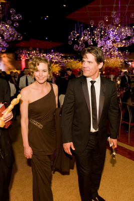 Cérémonie des Oscars 2008 : Photo Diane Lane, Josh Brolin