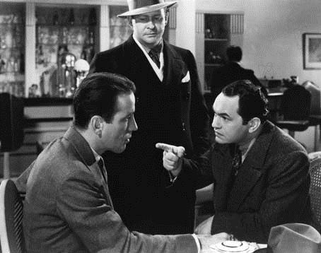 Guerre au crime : Photo Edward G. Robinson, Humphrey Bogart, William Keighley