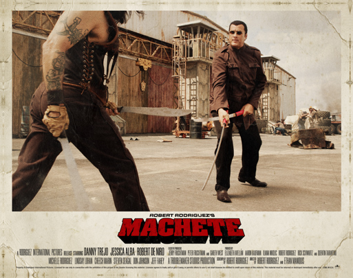 Machete : affiche