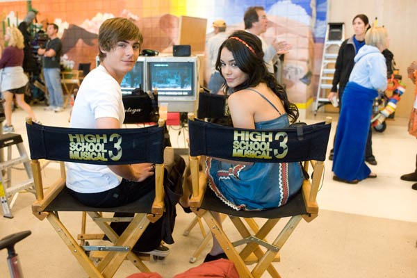 High School Musical 3 : nos années lycée : Photo Kenny Ortega, Vanessa Hudgens, Zac Efron