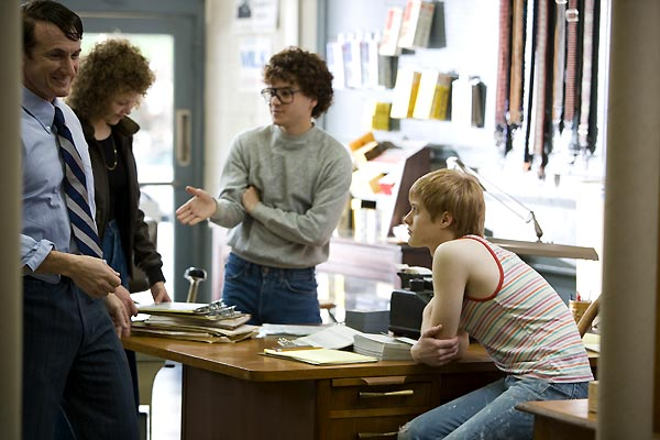 Harvey Milk : Photo Alison Pill, Emile Hirsch, Gus Van Sant, Lucas Grabeel, Sean Penn