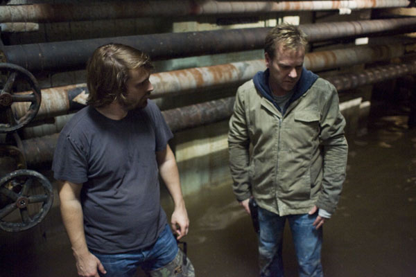 Mirrors : Photo Alexandre Aja, Kiefer Sutherland