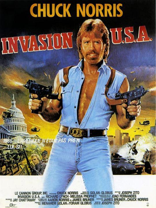 Invasion U.S.A. : Affiche