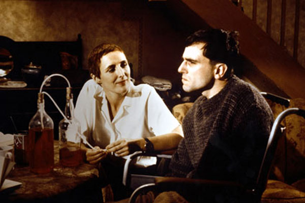 My Left Foot : Photo Daniel Day-Lewis, Jim Sheridan
