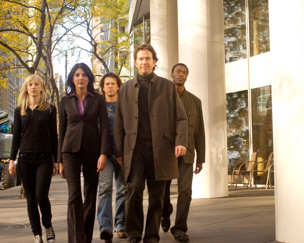 Leverage - Les Justiciers : Photo Aldis Hodge, Beth Riesgraf, Christian Kane, Gina Bellman, Timothy Hutton