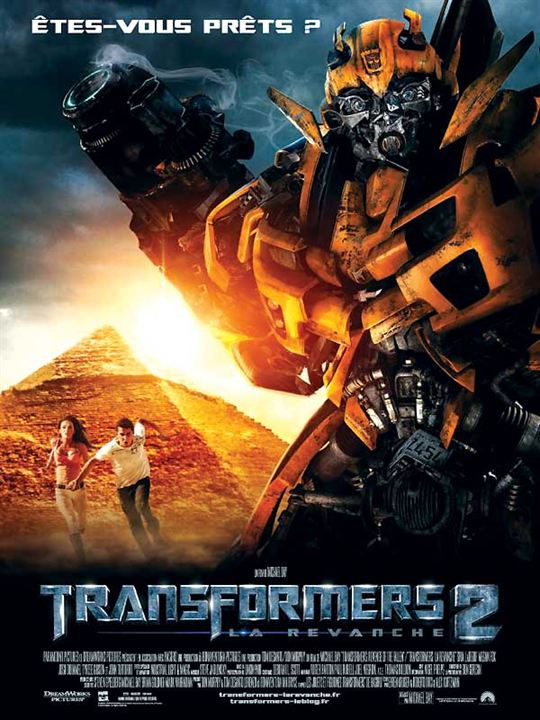 affiche du film transformers 2 la revanche affiche 2 sur 10 allocin. Black Bedroom Furniture Sets. Home Design Ideas