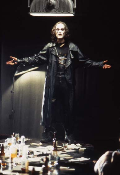 an analysis of the movie the crow by alex proyas The special features on this are the same as on the dvd release except that the audio commentary is done with director alex proyas and the theatrical trailer is included, all of it on disk 1 disk 2 features a digital copy of the movie.