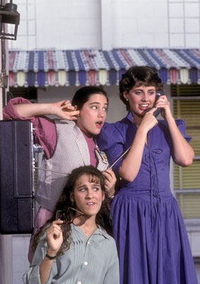 Square Pegs : Photo Amy Linker, Sarah Jessica Parker, Tracy Nelson