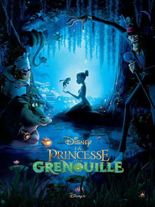 La Princesse et la grenouille : Affiche