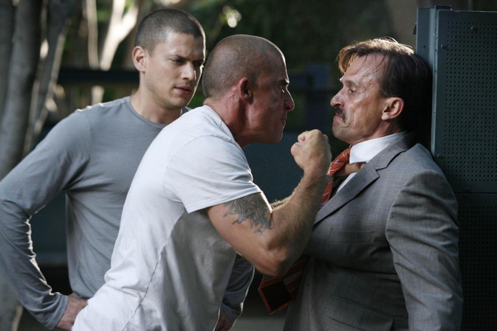 Prison Break : Photo Dominic Purcell, Robert Knepper, Wentworth Miller