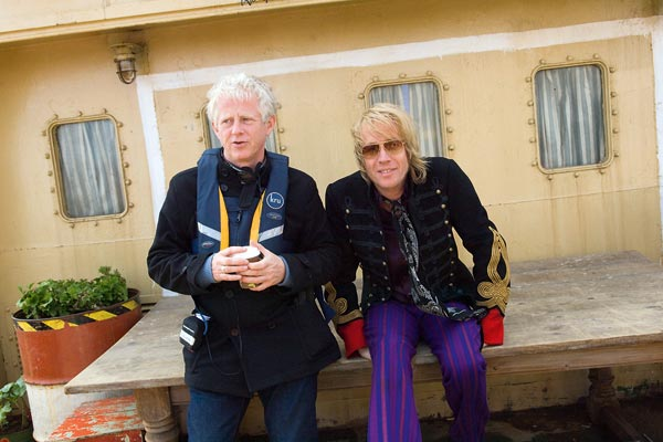 Good Morning England : Photo Rhys Ifans, Richard Curtis